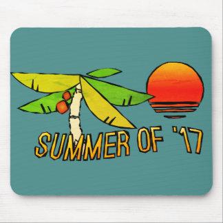 Sommerzeit - perfekter Strand-Sonnenuntergang Mousepads