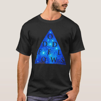 SONDERBARE GEFÄHRTEgeometrischer Galaxie-Entwurf T-Shirt