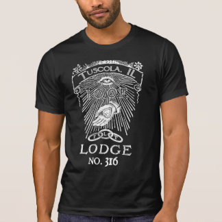 Sonderbare Miterinnerungsband-Häuschen-Shirt T-Shirt