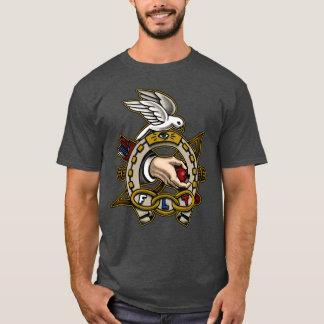 Sonderbare Mitsymbolisches Hufeisen T-Shirt