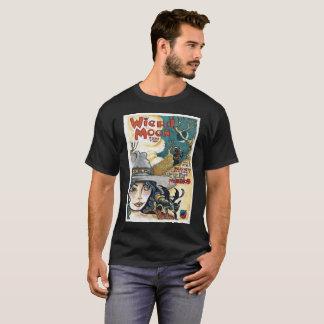 Sonderbarer Mond Halloween T-Shirt