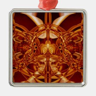 Sonderbarer Rauch (1).JPG Quadratisches Silberfarbenes Ornament