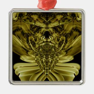 Sonderbarer Rauch (25).JPG Quadratisches Silberfarbenes Ornament