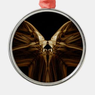 Sonderbarer Rauch (35) .JPG Rundes Silberfarbenes Ornament