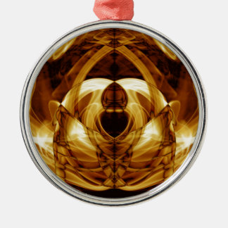 Sonderbarer Rauch (38) .JPG Rundes Silberfarbenes Ornament