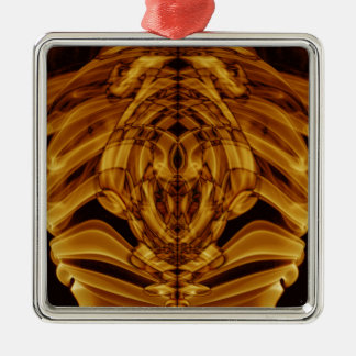 Sonderbarer Rauch (42) .JPG Quadratisches Silberfarbenes Ornament