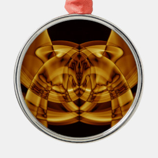 Sonderbarer Rauch (45) .JPG Rundes Silberfarbenes Ornament