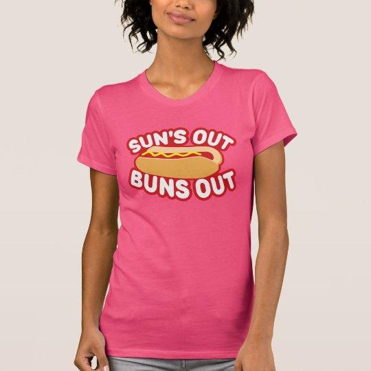 Sonne-heraus Brötchen heraus T-Shirt
