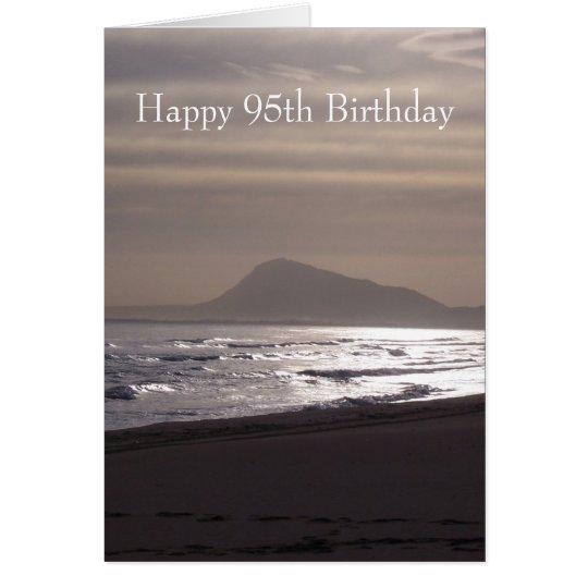 Sonnenaufgang-95. Geburtstag Karte