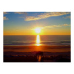 Sonnenaufgang an Wrightsville Strand Poster