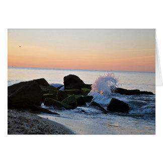 Sonnenaufgang auf Cape Cod Falmouth, MA leeres Karte