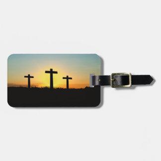 Sonnenaufgang-Auferstehungs-Ostern-Gepäckanhänger Kofferanhänger