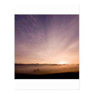 Sonnenaufgang-Bayer-Holz Postkarte