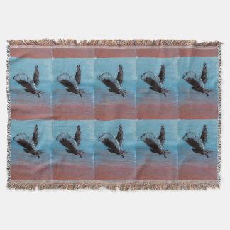 Sonnenaufgang-Eulen-Kunst Decke