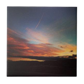 Sonnenaufgang Fliese