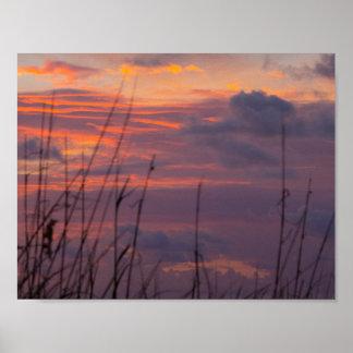 Sonnenaufgang, Fort Pierce, Florida Poster