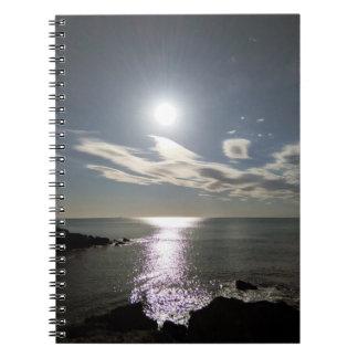 Sonnenaufgang-Foto-Notizbuch durch IreneDesign2011 Notizblock