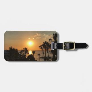 Sonnenaufgang-Gepäckanhänger Gepäckanhänger