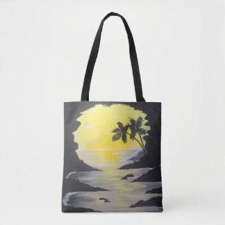 Sonnenaufgang-Höhlen-Taschen-Tasche Tasche