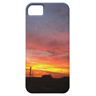 Sonnenaufgang im Herbst / Morgenröte im Herbst iPhone 5 Etui