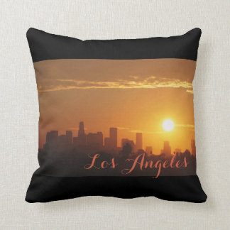 Sonnenaufgang in Los Angeles Kissen