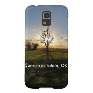 Sonnenaufgang in Talala, OKAYHandy-Fall Hülle Fürs Galaxy S5