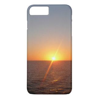 Sonnenaufgang Ozean-Horizont-Meerblick am Meeriii iPhone 8 Plus/7 Plus Hülle