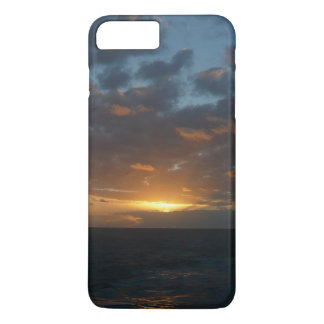 Sonnenaufgang Ozean-Meerblick-Fotografie an der iPhone 8 Plus/7 Plus Hülle
