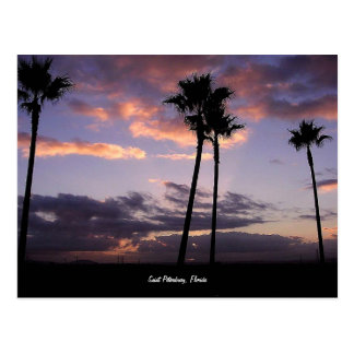 Sonnenaufgang, Postkarte St Petersburg, Florida