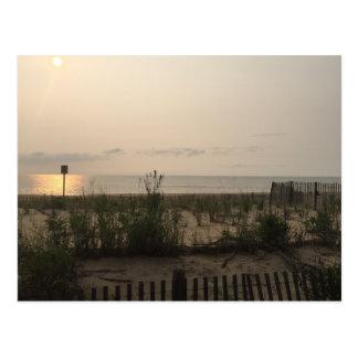 Sonnenaufgang, Rehoboth Strand, DE Postcard Postkarten