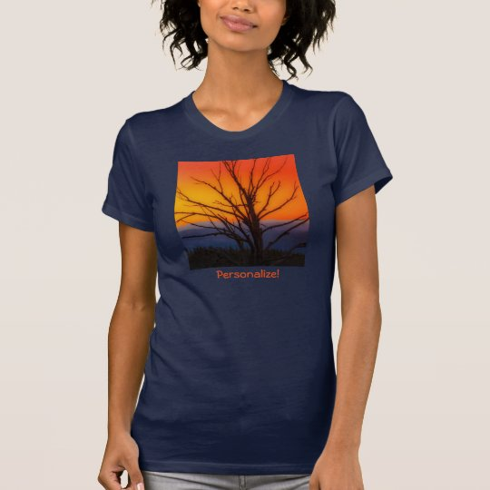 Sonnenaufgang über Yellowstone Nationalpark T-Shirt
