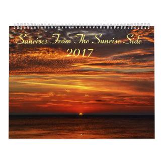 Sonnenaufgänge von der Sonnenaufgang-Seite 2017 Wandkalender