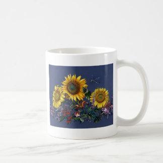 Sonnenblume-Abenteuer Tasse