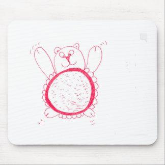 Sonnenblume-Bär Mousepad