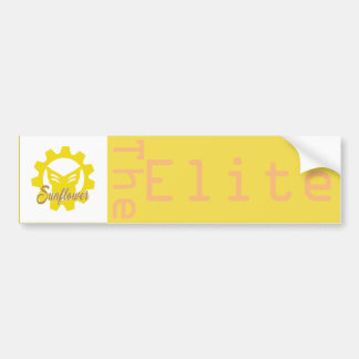 Sonnenblume: Der Auslese-Autoaufkleber Autoaufkleber