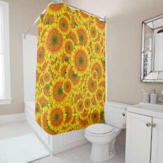 Sonnenblume-Explosions-Duschvorhang Duschvorhang