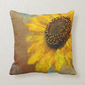 Sonnenblume-Explosions-Kissen Kissen