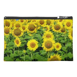 Sonnenblume-Felder Reisekulturtasche