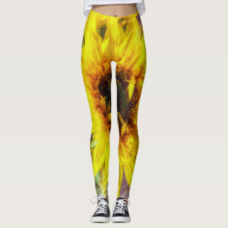 Sonnenblume-Flair Leggings
