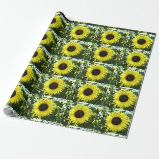 Sonnenblume-Garten-Packpapier Einpackpapier