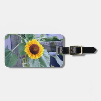 Sonnenblume-Gepäckanhänger Gepäckanhänger