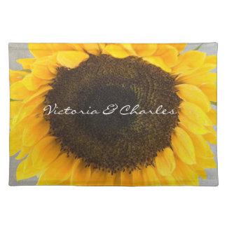Sonnenblume-Geschenke Tischset
