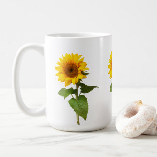 Sonnenblume-Kaffee-Tasse Tasse
