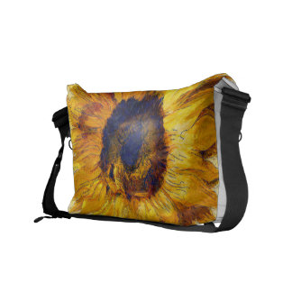 Sonnenblume-Kunst Kuriertasche