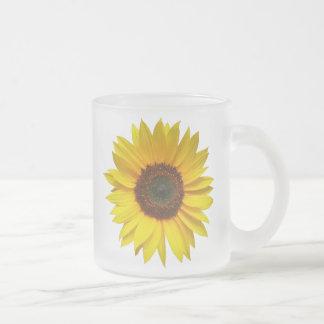 Sonnenblume-mattierte Tasse