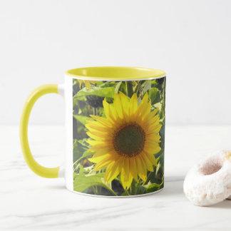 Sonnenblume-Morgen-Tasse Tasse
