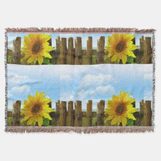 Sonnenblume-Natur-Schönheit Decke