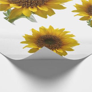 Sonnenblume-Packpapier Geschenkpapier