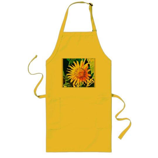 Sonnenblume-Schürze Lange Schürze