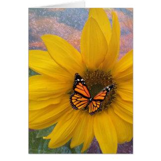 Sonnenblume-Sommer Karte